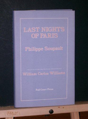 9780916190194: Last nights of Paris