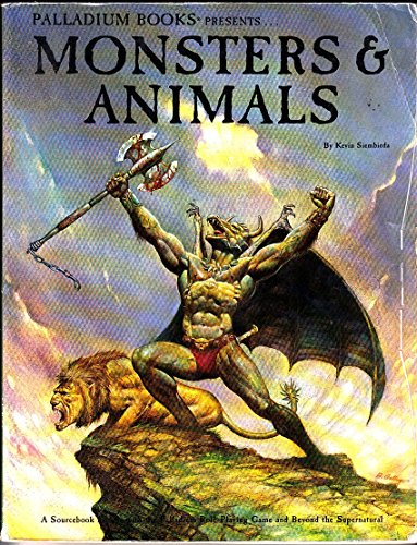 9780916211127: Monsters and Animals