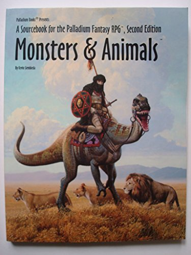 Monsters & Animals 1st Edition, 2nd Printing: Kevin Siembieda