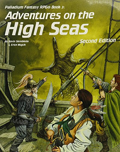 Adventures on the High Seas (Palladium Rpg Fantasy Adventure Book 3): Siembieda, Kevin