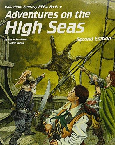 9780916211172: Adventures on the High Seas (Palladium Rpg Fantasy Adventure Book 3)
