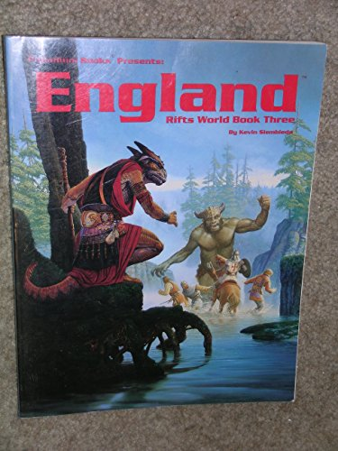 Rifts World Book 3: England: Kevin Siembieda, Alex