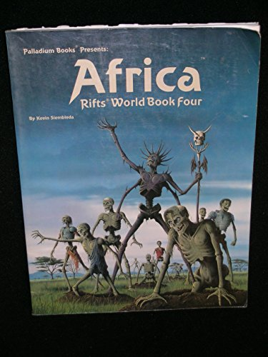 Rifts World Book 4: Africa (0916211584) by Kevin Siembieda