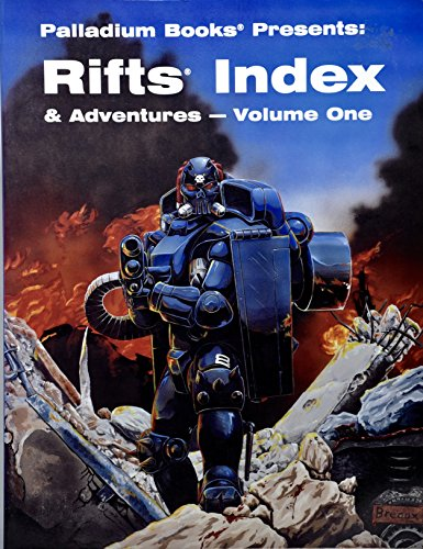 RIFTS Index and Adventures: v. 1 (0916211959) by Kevin Siembieda; Craig Crawford