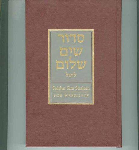 Siddur Sim Shalom for Weekdays
