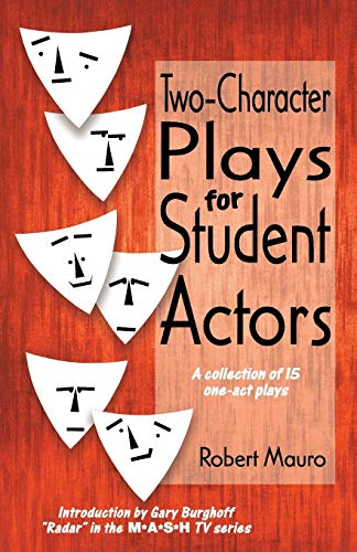 9780916260538: Two-Character Plays for Student Actors: A Collection of Fifteen One-Act Play: Collection of One-act Plays
