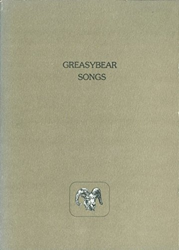 Songs (Modern and contemporary poetry of the West): Greasybear, Charley J.; Crews, Judson; Trusky, ...