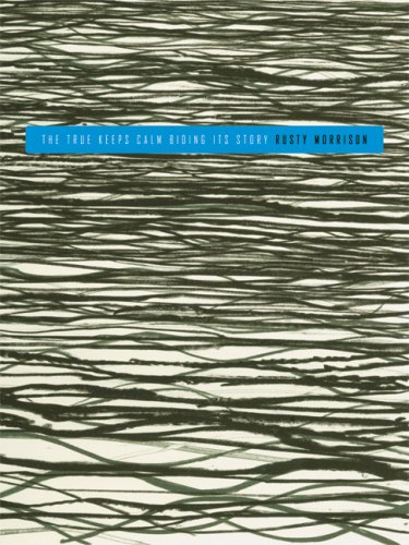 9780916272982: The True Keeps Calm Biding Its Story (Sawtooth Poetry Prize Series Modern and Contemporary Poetry)