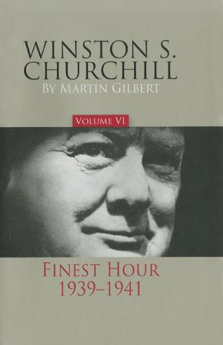 9780916308292: Winston S. Churchill, Volume 6: Finest Hour, 1939-1941