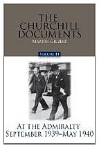 9780916308322: The Churchill Documents, Volume 14: At the Admiralty, September 1939 – May 1940