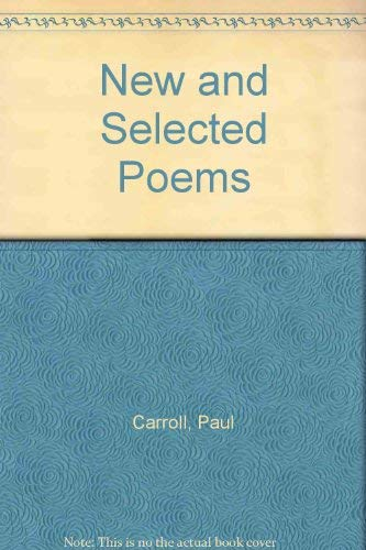 9780916328115: New and Selected Poems