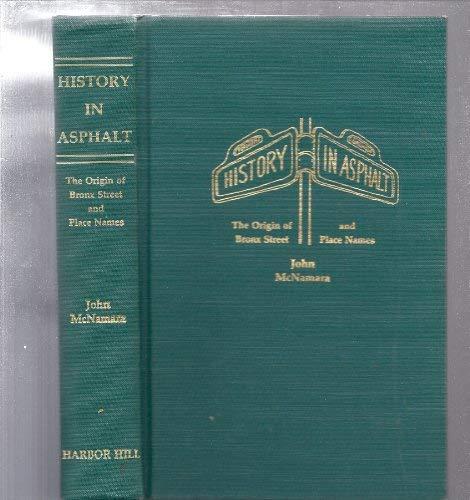 History in asphalt: The origin of Bronx: McNamara, John