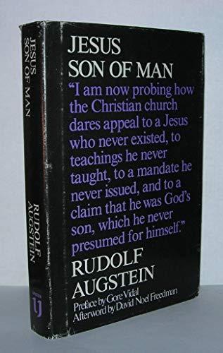 9780916354633: Jesus, Son of Man