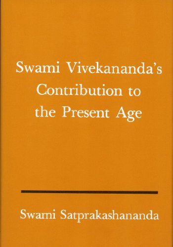 Swami Vivekananda's Contribution to the Present Age