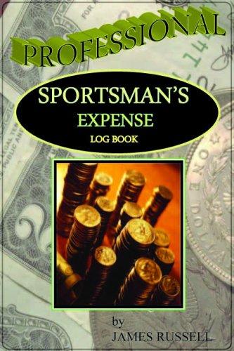 9780916367619: Professional Sportsman's Expense Log Book