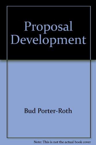 9780916378677: Proposal Development: A Winning Approach (Successful Business Library)