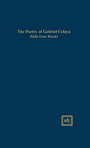 9780916379278: The Poetry of Gabriel Celaya: A Thematic Study (Scripta Humanistica)