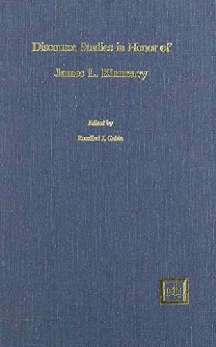 9780916379575: Discourse Studies in Honor of James L. Kinneavy (Scripta Humanistica Series)