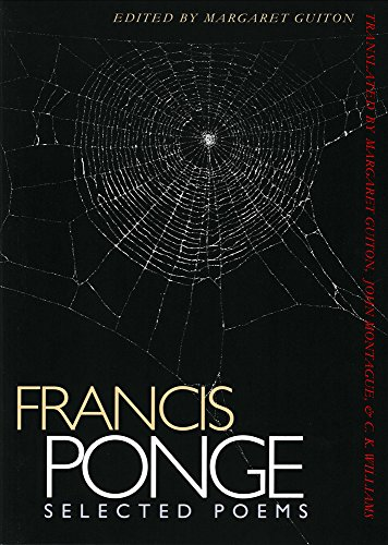 Selected Poems | Francis Ponge (English and: Francis Ponge