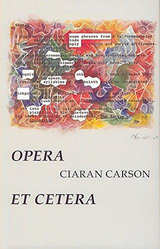 9780916390754: Opera Et Cetera