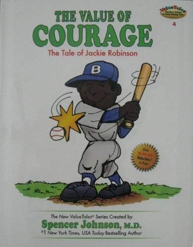 9780916392123: The Value of Courage: The Story of Jackie Robinson