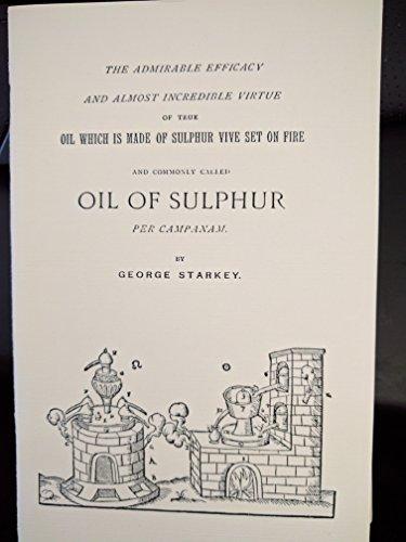 9780916411206: Oil of Sulphur