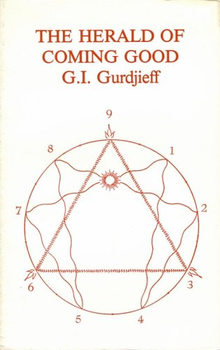 The Herald of Coming Good (0916411729) by G. I. Gurdjieff
