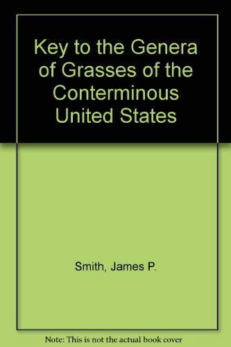 9780916422226: Key to the Genera of Grasses of the Conterminous United States. Enl Ed