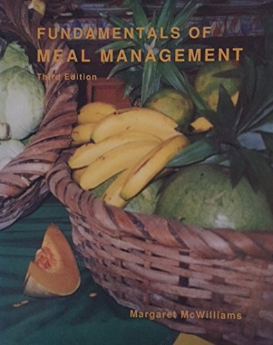 9780916434311: Fundamentals of Meal Management