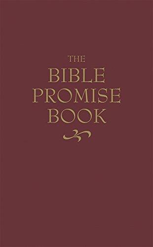9780916441432: The KJV Bible Promise Book Burgundy Kivar Leathersoft