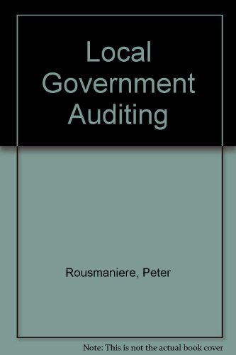 Local Government Auditing: Peter Rousmaniere