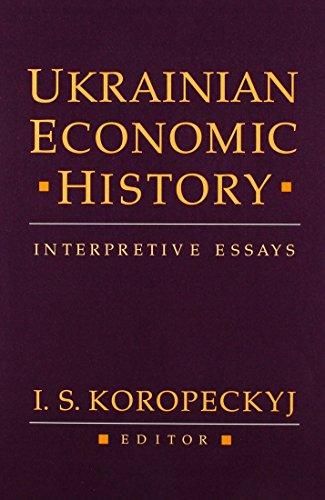 9780916458355: Ukrainian Economic History: Interpretive Essays (Harvard Series in Ukrainian Studies)