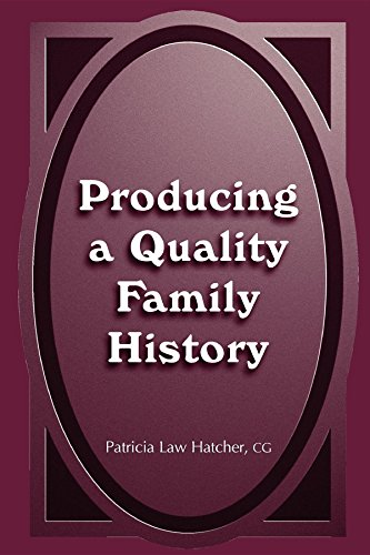 9780916489649: Producing a Quality Family History
