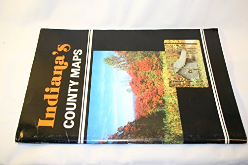 9780916514099: Indiana's County Maps