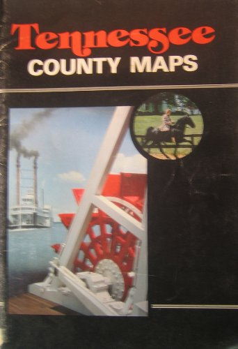 9780916514150: Tennessee County Maps