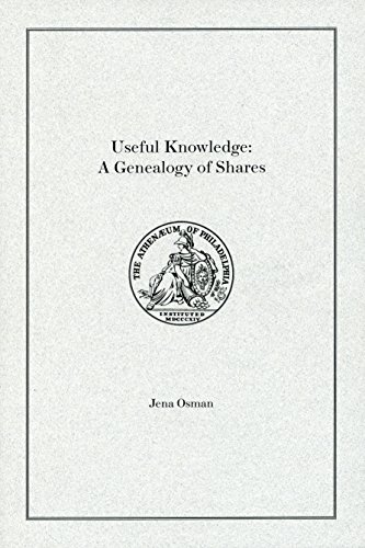 9780916530914: Useful Knowledge: A Genealogy of Shares