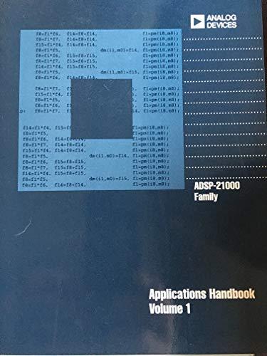 Adsp 21000 Family Application Handbook: Analog Devices, Inc.