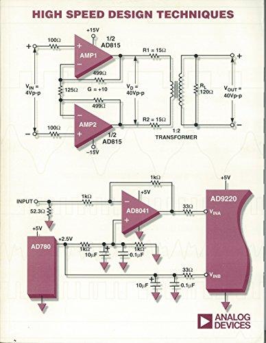 High Speed Design Techniques: Walt Kester