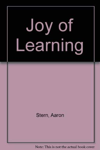 Joy of Learning: Stern, Aaron