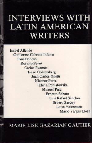 9780916583323: Interviews with Latin American Writers (Current Continental Research; 551)
