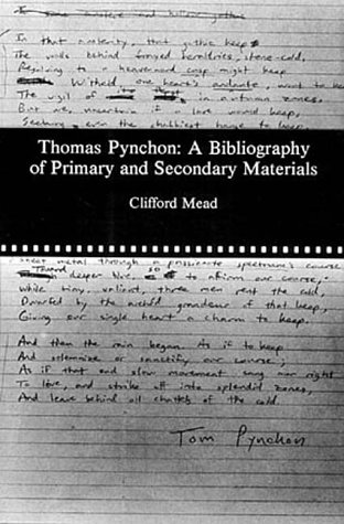 Thomas Pynchon: A Bibliography of Primary and Secondary Materials: Mead, Clifford