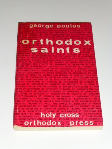 9780916586058: Orthodox saints: Spiritual profiles for modern man
