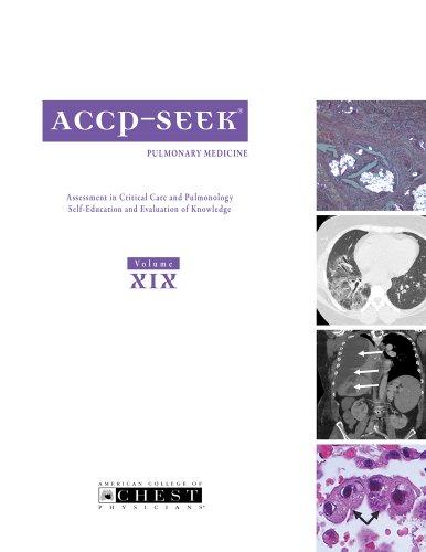 9780916609788: ACCP SEEK Volume XIX: Pulmonary Medicine 2009