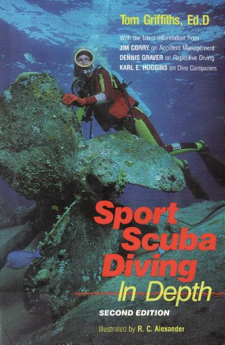 9780916622855: Sport Scuba Diving in Depth: An Introduction to Basic Scuba Instruction and Beyond