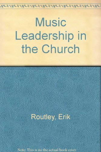 9780916642242: Music Leadership in the Church