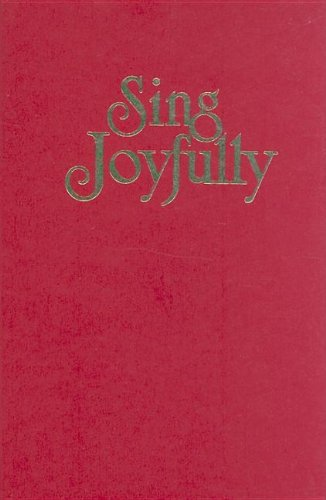 Sing Joyfully (red): Schrader, Jack