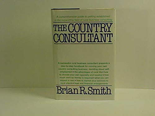 9780916654238: Country Consultant