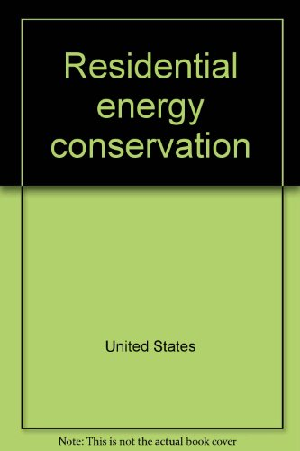 Residential Energy Conservation: Office of Technology Assessment