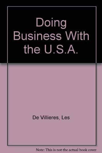 Doing Business With the U.S.A.: De Villieres, Les