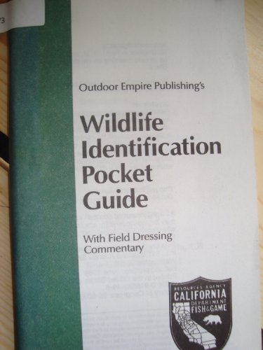 9780916682491: Wildlife Identification Pocket Guide